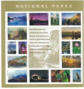 National Parks USPS Forever Stamp Sheet of (16) Forever Stamps Mount Rainer