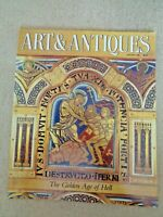 Art & Antiques Jan 1991 Magazine Bauhaus Quimper faience Charles Marion Russell