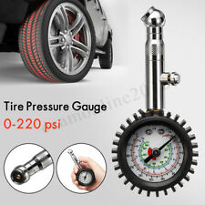 Auto Car Vehicle Automobile Tire Tyre Air Pressure Gage 0-220 psi Dial Meter New