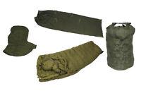 Original Bundeswehr Winter Schlafsack, BW KSK Fernspäher Sack 5-tlg, -35 Grad