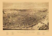St Louis Missouri - Juehne 1894 - 23.00 x 32.88