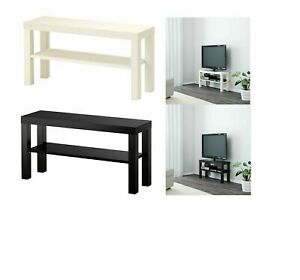 Ikea Lack TV Bench Table Stand LCD LED Bed Sitting Room 90x26 cm White & Black