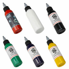 Professional 2oz 60ml Permanent Tattoo Makeup Inks Pigment Paints 5 Color Supply