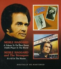 MERLE HAGGARD - IT'S ALL IN THE MOVIES/BEST DAMN FIDDLE PLAYER  CD NEUF