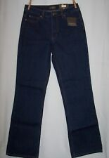 NEW Womens Denverhayes Denim Jeans Dark Blue Classic Fit Boot Cut Size 6