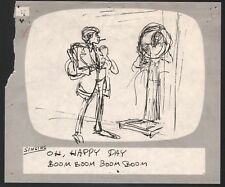 Hey Good Lookin Ralph Bakshi 1973-82 animation Hand-Drawn Production Storyboard