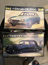 Heller 1/43 Model Kits