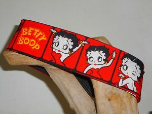 Betty Boop 2 Inch Custom Made Martingale Dog Collar