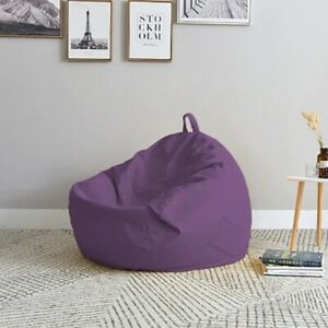 Lazy Sofa Cover Solid Chair Covers without Filler/Inner Bean Bag
