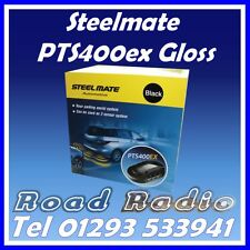 Steelmate PTS400ex Gloss Black 4 Eye Parking Sensors