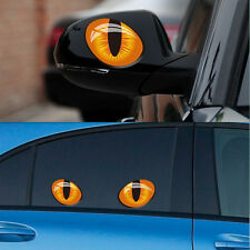 3D Car Stickers Truck Window Decal Sticker Cat Eye Design Removeable Funny New