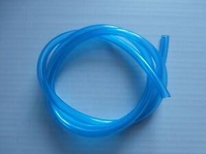 Benzinschlauch 5 mm Innendurchmesser  ,glasklar blau passend für Simson