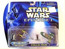 STAR WARS EPISODE 1,COLLECTION 1,MICRO MACHINES,VEHICLE /FIGURE COLLECTION ,NEW