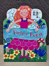 New Fairy Fern Children Board Book Party Favor Girls Boook Lesley Rees