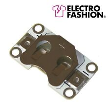 Electro Fashion Sewable Coin Cell Holder E-Textiles Electro Fashion Projects