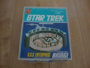 L174 1975 AMT Model Kit S950 - Star Trek U.S.S. Enterprise - Command Bridge