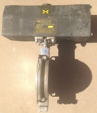 "Keystone Pneumatic Actuator 110-79X-501 With 6"" Keystone Butterfly Valve K-Lok"