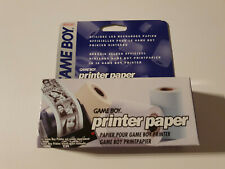 Gameboy Printer Paper - GB CIB near MINT new old stock