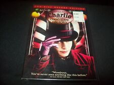 Charlie and The Chocolate Factory (Dvd) Deluxe Edition.ws.New & Factory Sealed!