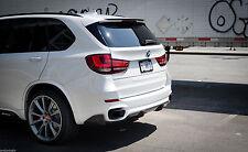For BMW X5 F15 PERFORMANCE M AERODYNAMIC Rear bumper SPOILER diffuser Sport