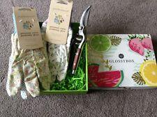 New 2 x Julie Dodsworth Cotton Gardening Gloves and pair Garden Bypass Pruners