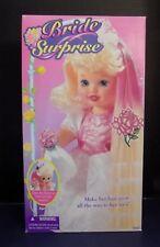 "Bride Surprise 1995 Vintage 15"" Doll Kenner Toys Party Girl ""Wedding Dress"" Nib"