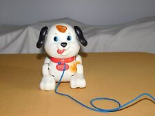 1999 MATTEL FISHER PRICE PULL STRING TOY PUPPY DOG HEAD & LEGS MOVE