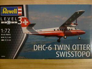 Maquette Avion 1/72 Revell Ref 03954 DHC-6 Twin Otter Swisstopo