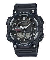 Casio Men's AEQ-110W-1AVEF Analogue/Digital Quartz Watch Resin Strap WoW DEAL