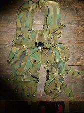 CAMOUFLAGE TACTICAL LOAD BEARING VEST ONE SIZE FITS MOST