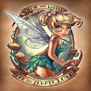 Cartoon DIY 5D Diamond Painting Children Fairy Girl Fashion Embroidery Art 1065#