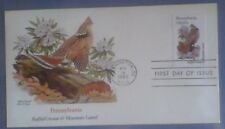 First day of issue, 1982 Pennsylvania State Bird and Flower, Scott # 1990