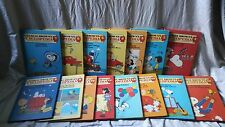 Charlie Brown's Cyclopedia Encyclopedia Complete Hardcover Set 1980 Volume 1-15