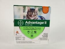 Advantage Ii Small Cat Flea Treatment, Qty 4 Small Cat Flea Prevention, 5-9Lbs