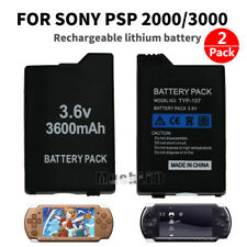 2x 3600mAh Battery Replacement For PSP 2000 Series PSP 2001 PSP 2002 PSP 2003 US