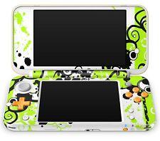 Nintendo NEW 2DS XL Aufkleber Skin Schutzfolie Sticker Klebefolie Simple Green