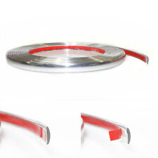 15MM x 3M Chrome Styling Moulding Trim Strip Adhesive For Scania Daf Man Iveco