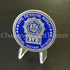 C11 NYPD Detective Bureau SVD Special Victims Division Police Challenge Coin