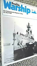 PROFILE WARSHIP #40: HER NETHERLANDS MAJESTY'S SHIP DE RUYTER (1974)