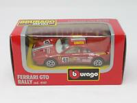 1:43 BBURAGO BURAGO DIE CAST METAL MODEL 4107 FERRARI GTO RALLY NIB [QL3-015]