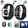 Silicone Band Sport Soft Strap for Apple Watch iWatch Series 1/2/3/4 38/40/42/44