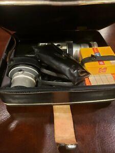 Canon Auto Zoom 518 Super 8 Camera W/ Original Case and Accessories