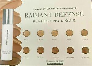 6 x Rodan + Fields Radiant Defense Perfecting Liquid 10XSample  0.2ml  R+F