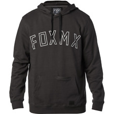 Fox Racing 2018 Bourne Pull Polaire Taille Homme L Noir Vintage FREE POST