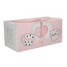 Creative Tops Ava & I Lot de 2 Chine Tasses Mugs Mug - Besties, Best Friends