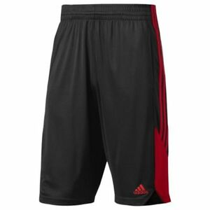 Adidas New Speed Adult Athletic Shorts BP5192 - Black/Red (NEW) Lists @ $30