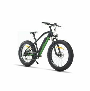 "26"" Fat Tire Electric Bicycle 500W 48V e-Bike Mountain Beach City eBike US"