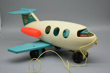 Fischer-Price Airplane with Pull String.  No Accessories.