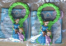 2 McDonald's Peter Pan Wendy Michael Magnifier Toy Magnifying Glass 1998 New MIP