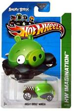 2012 Hot Wheels #35 HW Imagination New Models Angry Birds Minion GFL card